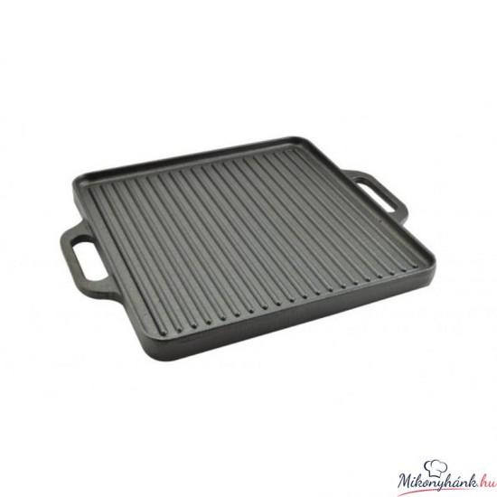 Öntöttvas grill lap 32x32cm (12970)