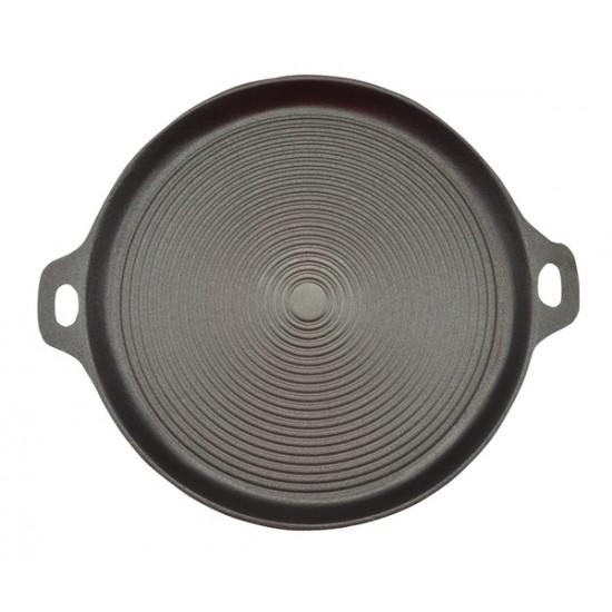 Öntöttvas grill lap kerek 34 cm (12003)