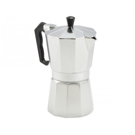 Kávéfőző 6 személyes alumínium (ARISE)