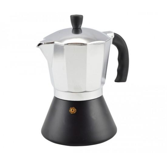 Kávéfőző 6 személyes fekete aljú (12172)