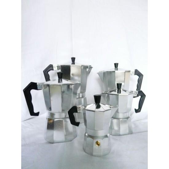 Kávéfőző 9 személyes alumínium (ARISE)